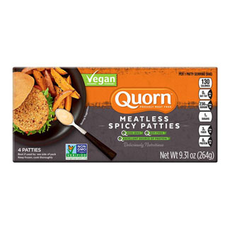 Quorn Meatless Spicy Chik'n Patties MAIN