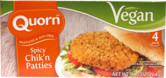 är quorn veganskt