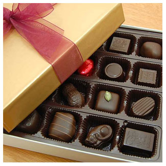 16 Piece Chocolate Assortment by Rose City Chocolatier LARGE