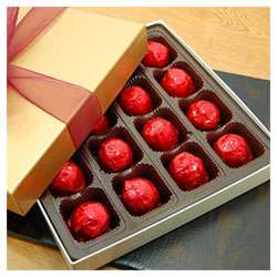 Belgian Chocolate Cordial Cherries by Rose City THUMBNAIL