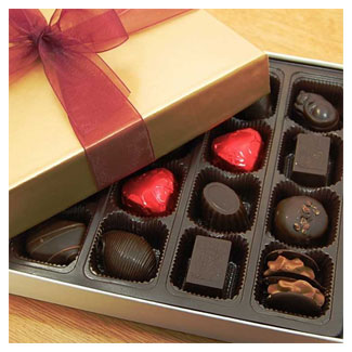 Hazelnut Truffle Assortment by Rose City Chocolatier MAIN