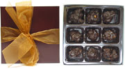 9-Piece Chocolate & Nut Clusters Collection by Rose City