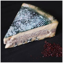 RIND Aged French-Style Plant-Based Cheese - Sumac, large wedge THUMBNAIL