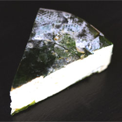 RIND Aged French-Style Plant-Based Cheese - Garlic Mustard Greens, large wedge THUMBNAIL