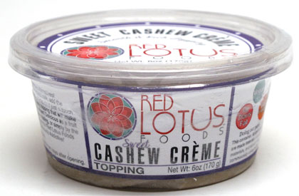 Sweet Cashew Creme by Red Lotus Foods