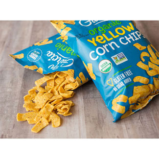 Organic Yellow Corn Chips by R.W. Garcia LARGE