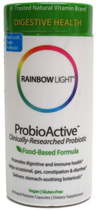 ProbioActive Probiotic Supplement by Rainbow Light LARGE