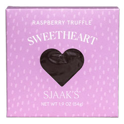 Organic Raspberry Truffle Sweetheart by Sjaak's THUMBNAIL