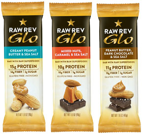 Raw Rev Glo Bars by Raw Revolution