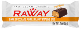 RaWay Organic Raw Vegan Candy Bars