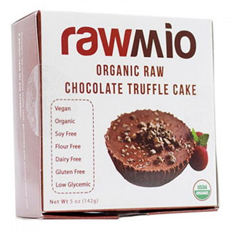 Organic Raw Chocolate Truffle Cake by Rawmio MAIN