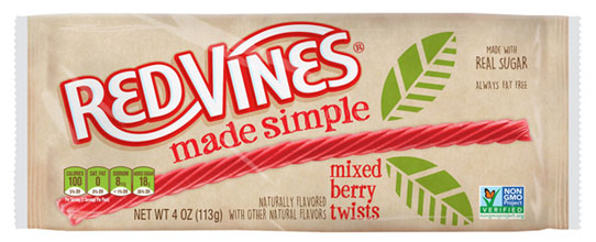 Red Vines Made Simple Mixed Berry Twists