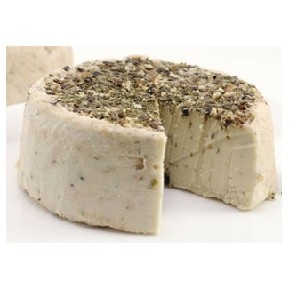 Cracked Pepper Dill Artisan Cheese by Reine Royal Vegan Cuisine LARGE