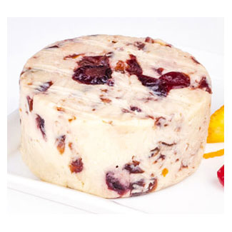 Cranberry Citrus Artisan Cheese by Reine Royal Vegan Cuisine LARGE