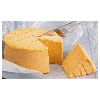Sharp Cheddar Artisan Cheese by Reine Royal Vegan Cuisine MAIN
