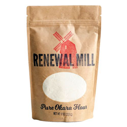Renewal Mill Okara Baking Flour - 8 oz. package THUMBNAIL