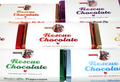 Chocolate Bars by Rescue Chocolate