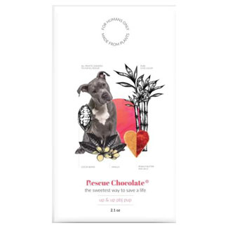 PB&J Pup Chocolate Bar by Rescue Chocolate MAIN