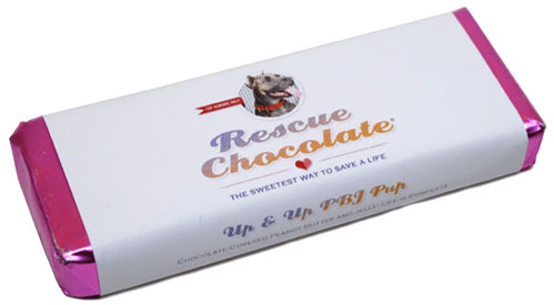 Up & Up PB&J Pup Chocolate Bar by Rescue Chocolate
