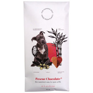 Up & Up PB&J Pup Chocolate Bar by Rescue Chocolate MAIN