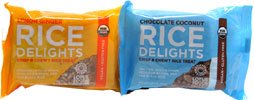 Rice Delights Organic Crisp & Chewy Rice Treat by Lotus Foods