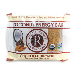 Rickaroons Organic Coconut Energy Bars - Chocolate Blonde THUMBNAIL