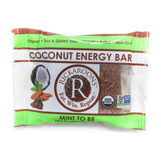 Rickaroons Organic Coconut Energy Bars - Mint to Be MAIN