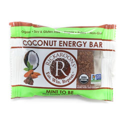 Rickaroons Organic Coconut Energy Bars - Mint to Be THUMBNAIL