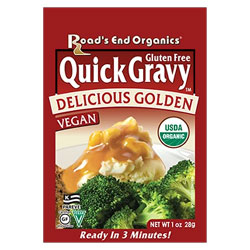 Road's End Organic Gravy Mix Packet - Golden Gravy THUMBNAIL