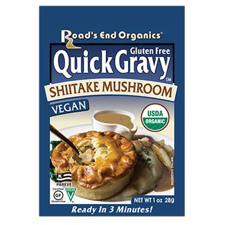 Road's End Organic Gravy Mix Packet - Shiitake Mushroom MAIN
