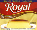 Royal Flan with Caramel Sauce Mix