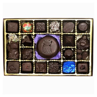 Royal Treasures 24 pc. Chocolate Assortment by Divine Treasures MAIN