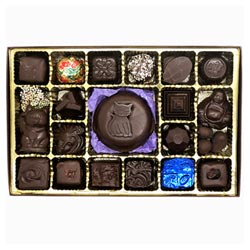 Royal Treasures 24 pc. Chocolate Assortment by Divine Treasures THUMBNAIL