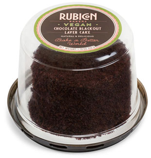 Vegan Chocolate Blackout Layer Cake by Rubicon Bakers