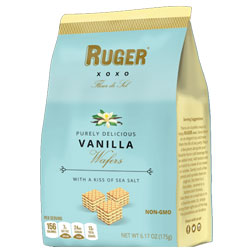 Ruger All-Natural Vanilla Mini Wafers - 175g bag THUMBNAIL