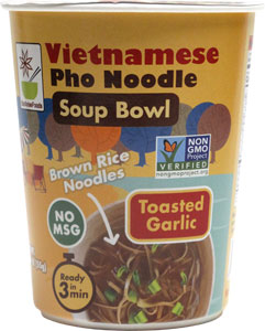 Toasted Garlic Vietnamese Pho Noodle Soup Bowl by Star Anise Foods