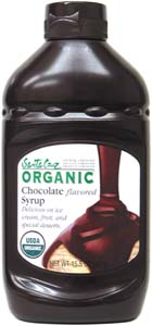 Santa Cruz Organic Chocolate Syrup