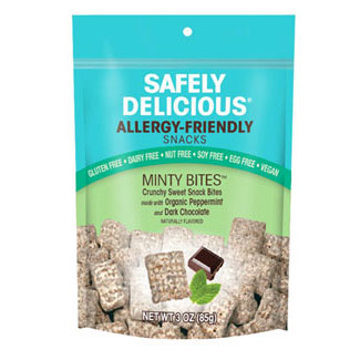 Minty Chocolatey Bites by Safely Delicious LARGE