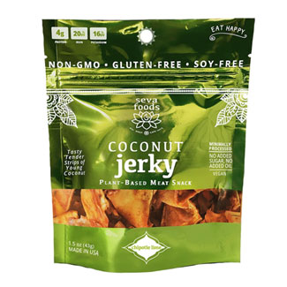 Chipotle Lime Coconut Jerky by Seva Foods MAIN