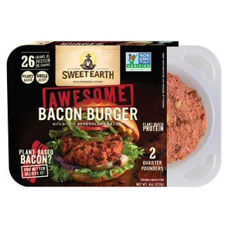 Sweet Earth Awesome Bacon Burger THUMBNAIL
