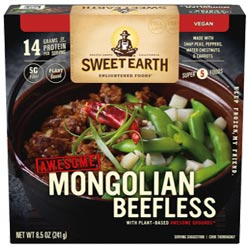 Sweet Earth Mongolian Beefless Bowl THUMBNAIL