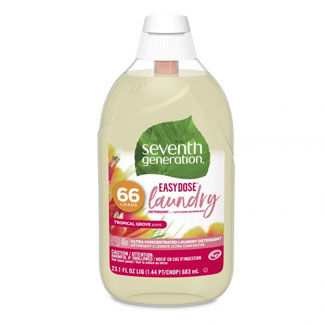 Seventh Generation EasyDose Laundry Detergent - Tropical Grove Scent MAIN