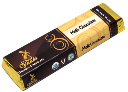 Sjaaks Organic Melk Chocolate Bar
