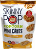 Skinny Pop Vegan Sharp Cheddar Popcorn Mini Cakes
