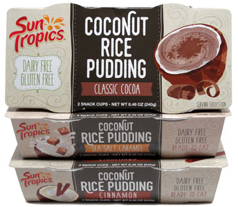 Sun Tropics Coconut Rice Pudding Snack Cups