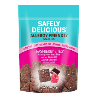 Raspberry Chocolatey Bites by Safely Delicious MAIN