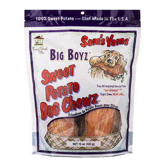 Sam's Yams Big Boyz Dog Chew Treats MAIN