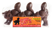 Halloween Scaredy Cat Chocolates by No Whey! Foods