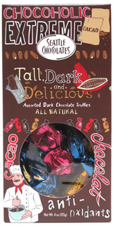 Tall, Dark and Delicious Chocaholic Truffle Mix by Seattle Chocolates