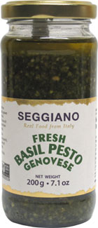 Fresh Basil Pesto Genovese by Seggiano LARGE